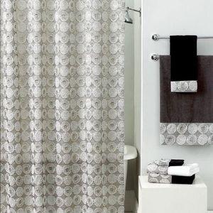 NWT Avanti Linens Galaxy Shower Curtain